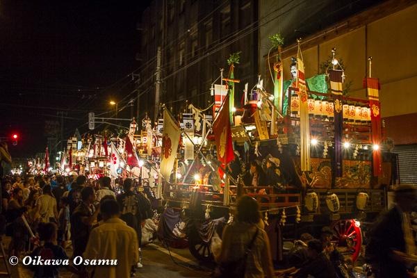 平成25年 姥神大神宮渡御祭・上町巡行 2013