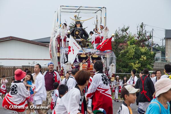 姥神大神宮渡御祭 2013 八大龍王神