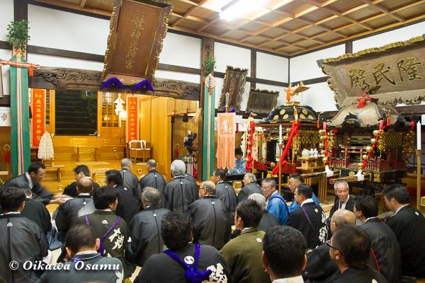 平成25年 姥神大神宮渡御祭・宵宮祭 2013