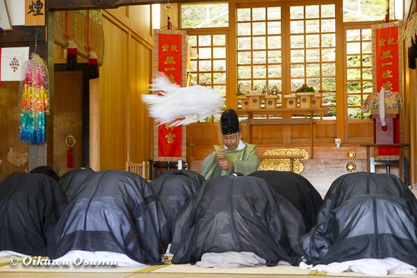 姥神大神宮渡御祭 2013 下町巡行 出発式