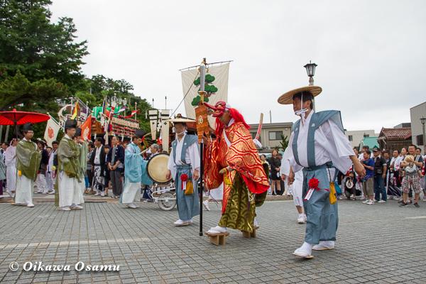 姥神大神宮渡御祭 2013 下町巡行
