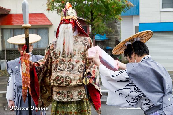 福島町 福島大神宮渡御祭 2013 猿田彦