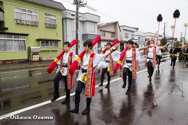 福島町 福島大神宮渡御祭 2013 奴行列後方
