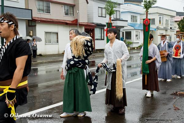 福島町 福島大神宮渡御祭 2013 神社行列