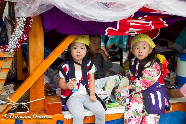 福島町 福島大神宮渡御祭 2013 踊り山車