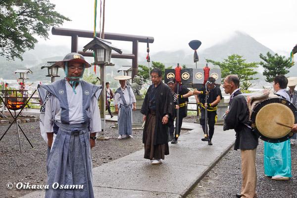 福島町 福島大神宮渡御祭 2013 奴行列