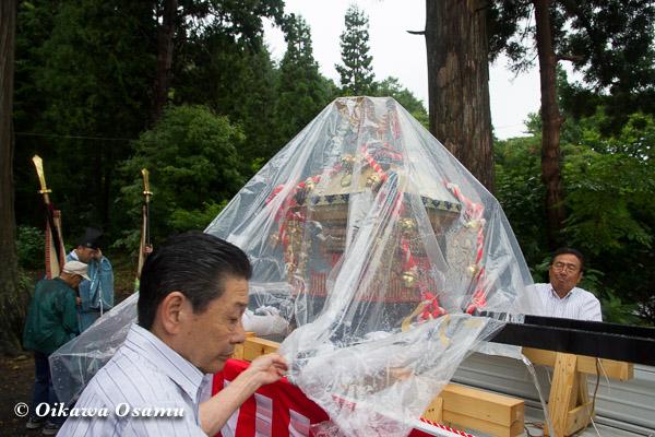 福島町 福島大神宮渡御祭 2013 神輿