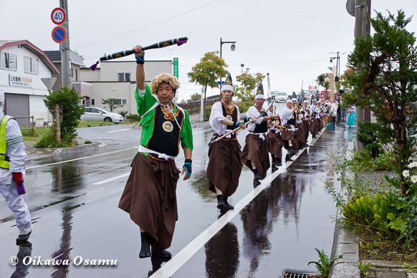 福島町 福島大神宮渡御祭 2013 四箇散米行列