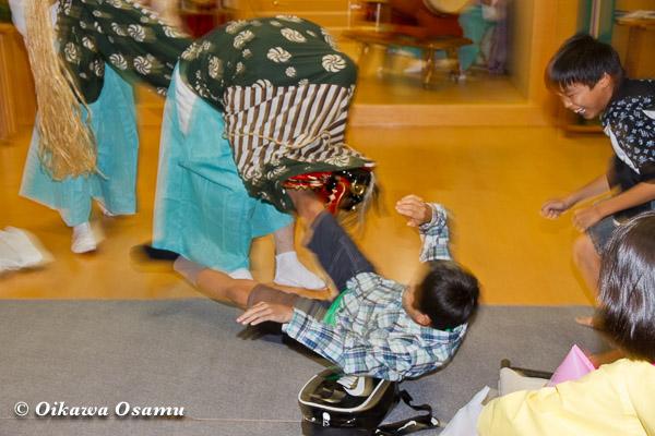 札幌村神社 2013 宵宮祭 神楽舞 獅子舞