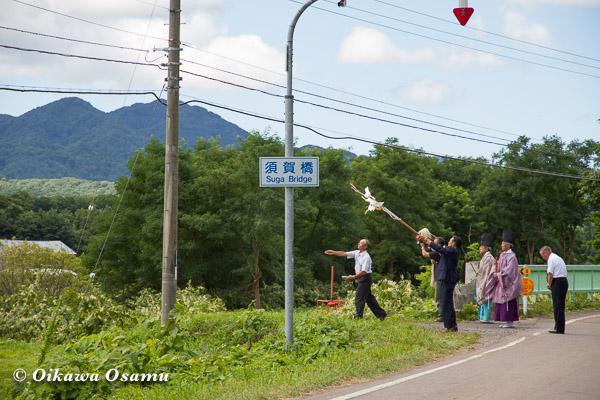 厚沢部町 鷲ノ巣神社 2013 門祓い