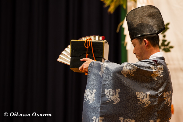 松前神楽小樽ブロック保存会合同公演 2013 京極町 後志 千歳舞