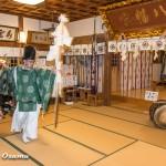 上ノ国八幡宮 新年門祓い・初神楽祭(平成28年)