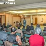 松前町・矢野旅館で行われた招待神楽