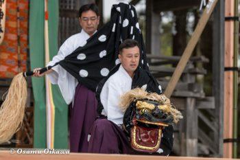 松前神楽合同公演 2016 十二の手獅子舞五方