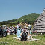 風車コンサート2016 写真展開催特別松前神楽奏上 神遊舞