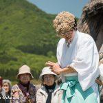 風車コンサート2016 写真展開催特別松前神楽奏上 山神舞