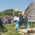 風車コンサート2016 写真展開催特別松前神楽奏上 十二の手獅子舞五方