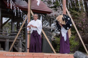 松前神楽合同公演 2016 御稜威舞