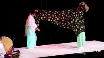 豪華客船 2015 松前神楽 十二の手獅子舞五方