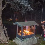 函館市・赤沼本山妙要寺 「うしみつ参り」の灯が消えました