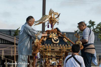 美瑛神社渡御祭 2016 神輿