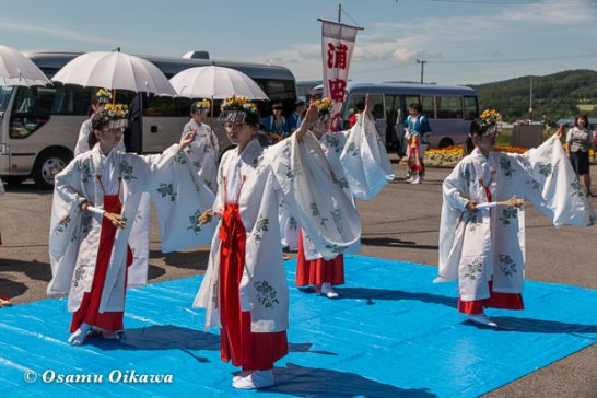 美瑛神社渡御祭 2016 豊栄の舞