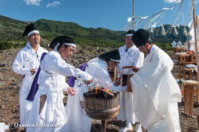 美瑛神社 美瑛・那智火祭 奉祝御鎮座120年記念 十勝岳鎮静祈願祭採火式