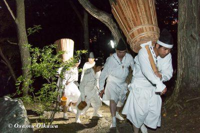 美瑛神社 美瑛・那智火祭 奉祝御鎮座120年記念 丸山公園