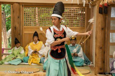 平成28年 尻岸内八幡神社 鎮座400年祭 松前神楽 直会祭 神遊舞
