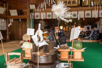 松前神社 2016 祭式