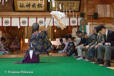 松前神社 宵宮祭 平成28年