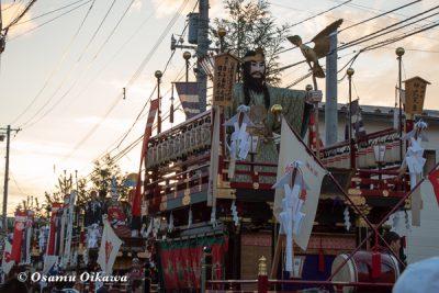 北海道,姥神大神宮渡御祭,山車,平成28年,江差町,下町巡行