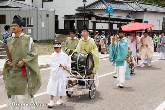 北海道,姥神大神宮渡御祭,山車,平成28年,江差町,下町巡行,神社行列