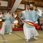 平成28年 乙部八幡神社宵宮祭での神楽舞