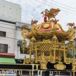 平成28年 函館八幡宮渡御祭「大神輿の石段かけのぼり」