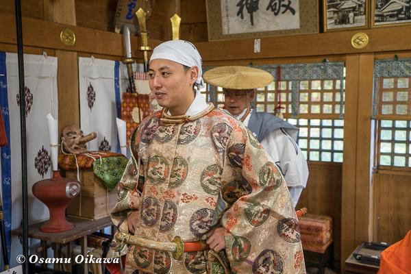 平成28年 福島大神宮 渡御祭 猿田彦