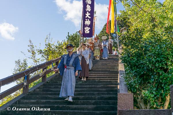 平成28年 福島大神宮 渡御祭 行列先頭