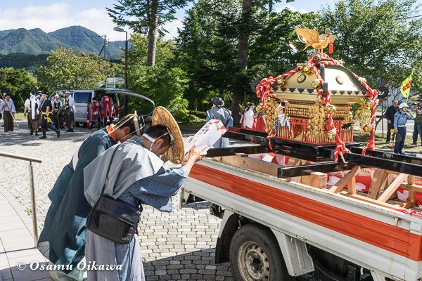 平成28年 福島大神宮 渡御祭 神輿