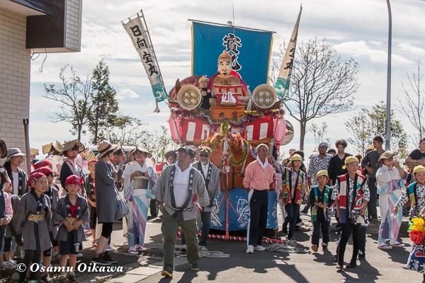 福島町 福島大神宮渡御祭 2日目 山車