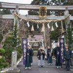 平成29年 上ノ国八幡宮「新年門祓い・初神楽祭」