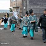 平成29年 松前町清部地区・門祓神事と神楽奉納と招待神楽