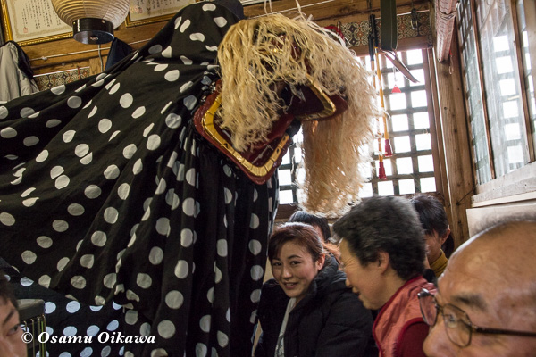 平成29年 白符大神宮 新年祭 松前神楽 十二の手獅子舞