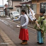 平成29年 松前町・原口八幡神社 新年門祓い・歳旦祭