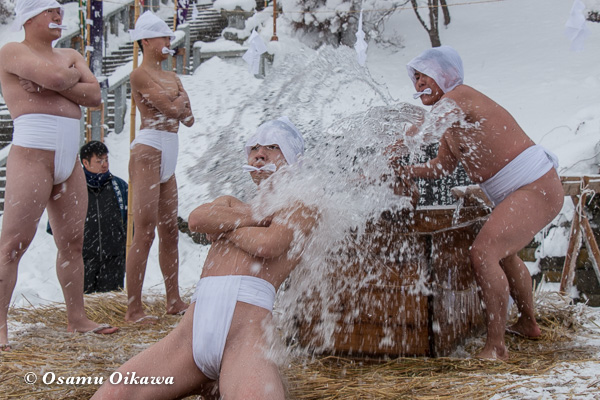 平成29年 木古内町 佐女川神社 寒中みそぎ祭 水垢離