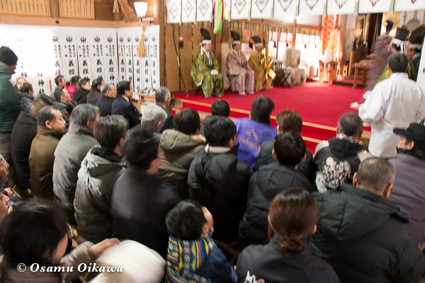 平成29年 平取町 義経神社 初午祭 祭式