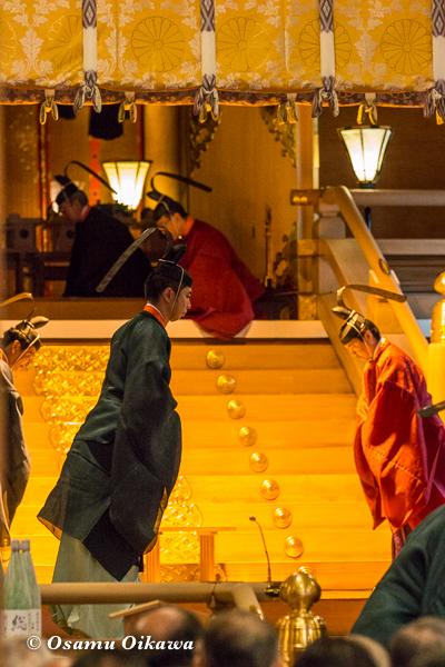 平成29年 北海道神宮例祭 献饌