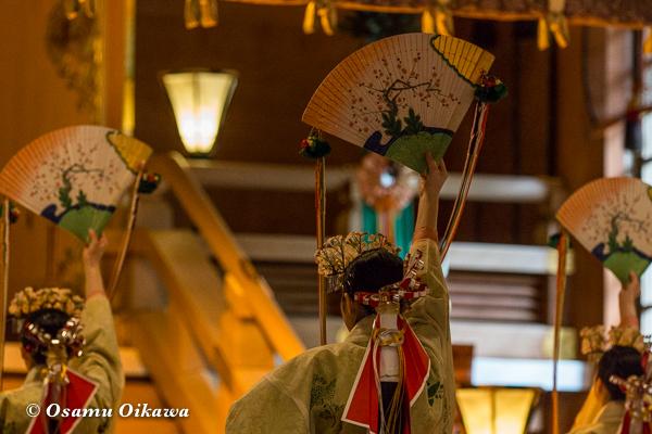 平成29年 北海道神宮例祭 浦安の舞