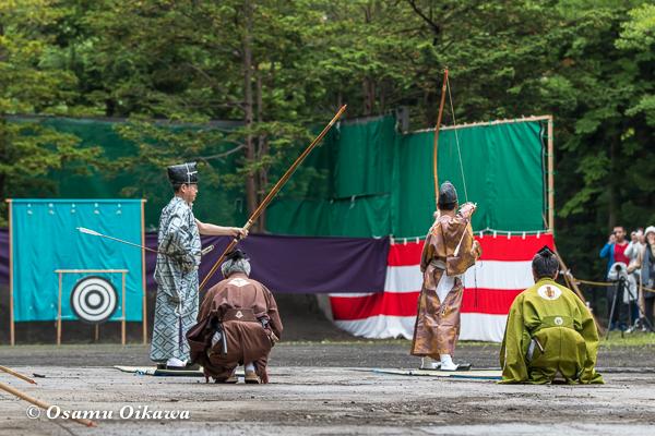 平成29年 北海道神宮例祭 奉賛行事 古式大的式