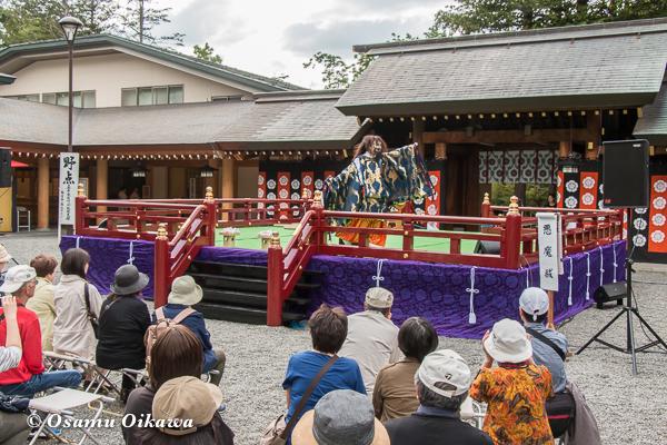 平成29年 北海道神宮例祭 三条神楽 悪魔祓い