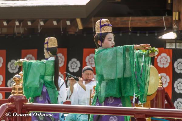平成29年 北海道神宮例祭 三条神楽 榊